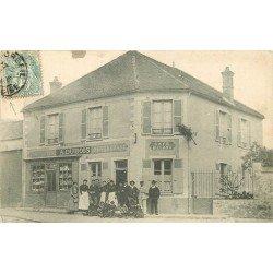 "91 CORBEIL. Café Billard Restaurant Dubois "" A l'Espérance "" 1907"