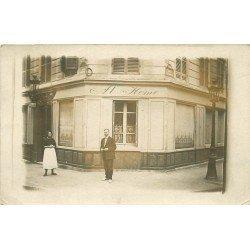 PARIS V. Hôtel at Home 12 rue Thénard et rue 17 rue Sommerard. Photo prototype pour future carte postale
