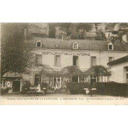 37 ROCHECORBON. Hôtel Restaurant de la Lanterne par Rousseau avec Serveuses