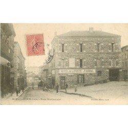 42 SAINT-GALMIER. Hôtel de la Poste par Abrial rue Nationale