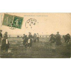 50 GOUVILLE. La Pêche aux Lançons 1920