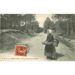 62 PARIS-PLAGE. Marchande de Poissons d'Etaples 1909