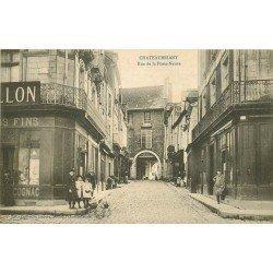 44 CHATEAUBRIANT. Commerce de Vins Rue de la Porte-Neuve