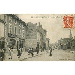 54 DOMBASLE SUR MEURTHE. La Poste et le Tabac rue Mathieu 1915