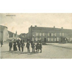 57 GRAVELOTTE. Douaniers devant Hôtel du Cheval d'Or 1907