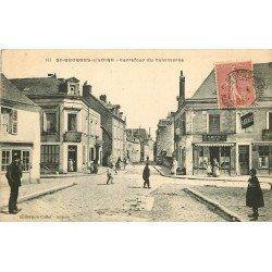 49 SAINT-GEORGES-SUR-LOIRE. Carrefour du Commerce 1907
