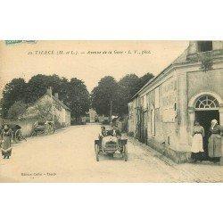 49 TIERCE. Voiture ancienne Avenue de la Gare 1925
