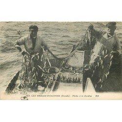 85 LES SABLES D'OLONNE. Pêche à la Sardine 1931