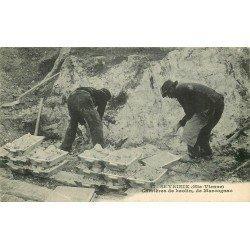 87 SAINT-YRIEIX. Ouvriers aux Carrières de Kaolin de Marcognac 1929