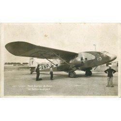 69 Lyon. Port aérien de Bron. Un Avion Potez au départ. Aviation Aérodrome et Aviateurs