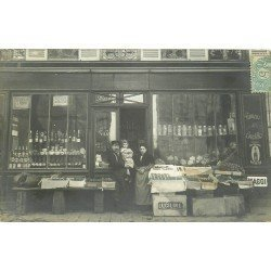 94 ALFORTVILLE. Epicerie Chagnot 140 rue de Villeneuve 1906. Photo carte postale ancienne