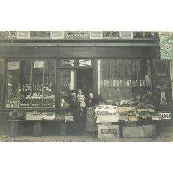 94 ALFORTVILLE. Epicerie Chagnot 140 rue de Villeneuve 1906. Photo carte postale ancienne
