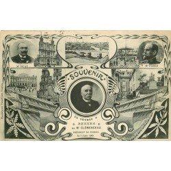 35 RENNES. Souvenir du voyage du Président Clémenceau en 1908