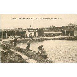 62 AMBLETEUSE. Le Parc aux Huîtres