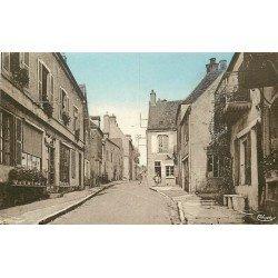 21 MOUTIERS-SAINT-JEAN. Epicerie sur Grande Rue 1955