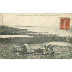 56 PENERF-EN-DAMGAN. Ostréiculteurs aux Parcs à Huîtres 1906