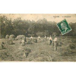76 YMAR. Paysans au moment de la Fenaison 1923