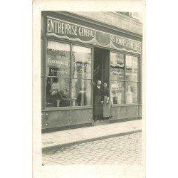 71 CHAROLLES. Entreprise Générale des Pompes Funèbres 1 rue Baudinot. Photo carte postale ancienne
