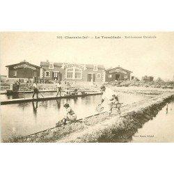 17 LA TREMBLADE. Etablissement Ostréicole Colombier huîtres Marennes et Portugaises