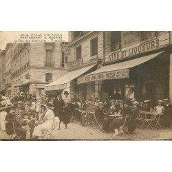 78 VERSAILLES. Café Aux deux Trianon Restaurant Hagron 19 rue des Réservoirs