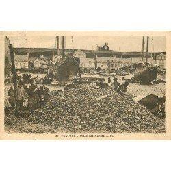 35 CANCALE. Triage des Huîtres 1935
