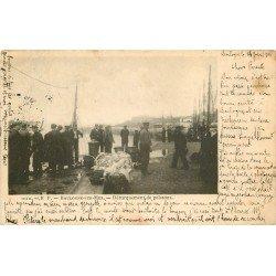 62 BOULOGNE-SUR-MER. Débarquement de Poissons 1904