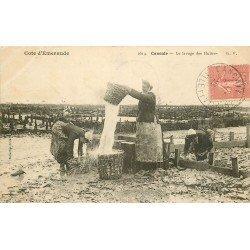 35 CANCALE. Le Lavage des Huîtres 1906