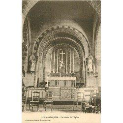 56 LOCMARIAQUER. Intérieur de l'Eglise