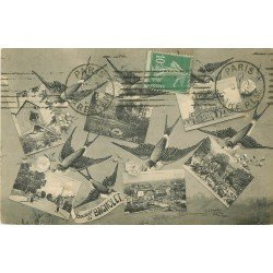 93 BAGNOLET. Multivues vers 1918