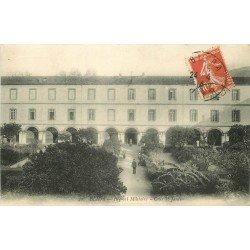 BLIDA. Cour et Jardin à l'Hôpital Militaire en Algérie 1914