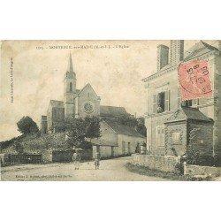 49 MONTREUIL-SUR-MAINE. L'Eglise 1905