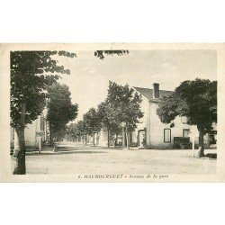 65 MAUBOURGUET. Avenue de la Gare 1937