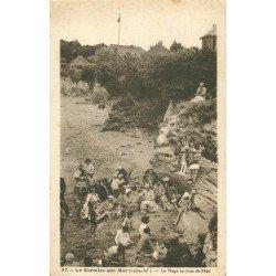 44 LE CORMIER-SUR-MER. La Plage jour de Fête 1934