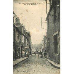 35 ANTRAIN-SUR-COUESNON. Coiffeur rue de la Filanderie