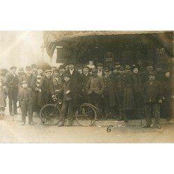 PARIS VI. Café Brunel 122 rue de Rennes. Photo carte postale ancienne et rare