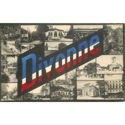 01 DIVONNE-LES-BAINS. Multivues 1918