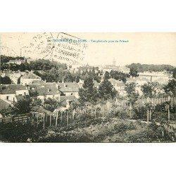 52 BOURBONNE-LES-BAINS. Vue du Village prise du Prieuré 1925
