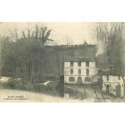 87 SAINT-JUNIEN. Le Moulin du Châtelard 1915
