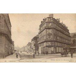 87 LIMOGES. Hôtel de la Paix Boulevard Fleurus 1917