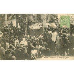 SENEGAL. A bord d'un Navire l'appel des Tirailleurs Sénégalais 1913