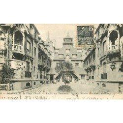 14 DEAUVILLE. Entrée du Normandy rue de l'Ecluse 1931
