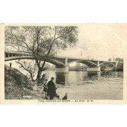 93 EPINAY-SUR-SEINE. Le Pont 1942