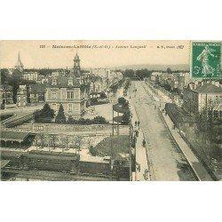 78 MAISONS-LAFFITTE. Train sous le Pont Avenue Longueil vers 1910