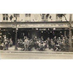 PARIS III° Grande Brasserie Russe Brunet & Duchemin 39 Boulevard du Temple. Photo carte postale