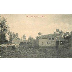 61 HAUTERIVE. Le Moulin sur la Sarthe 1916