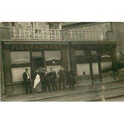 CANADA. Restaurant du Capitole au 207 rue Lindsay à Drummondville. Photo carte postale ancienne Maison Guevin