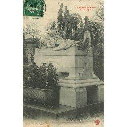 PARIS XX. Cimetière du Père Lachaise. Monument Verazzi 1908