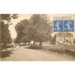 79 SAINT-JOUIN-DE-MARNES. Vaches sur la Route de Thouars 1933