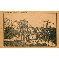 PARIS IX°. Carte réponse Société de Combustible située au 34 Boulevard Haussmann