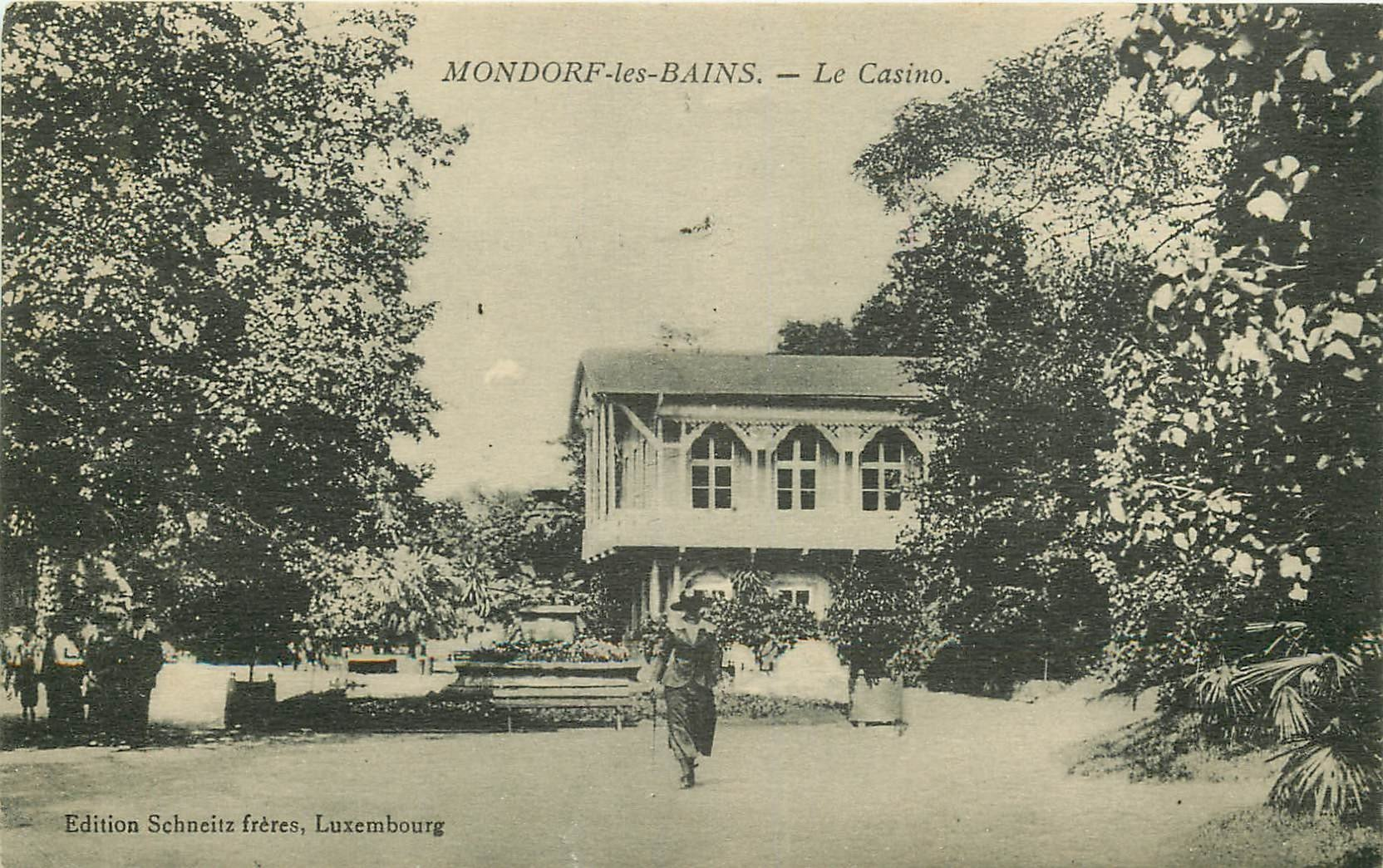 MONDORF-LES-BAINS. Le Casino 1926 au Luxembourg